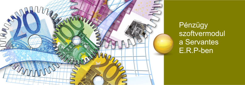 Servantes ERP Pénzügyi Szoftvermodul
