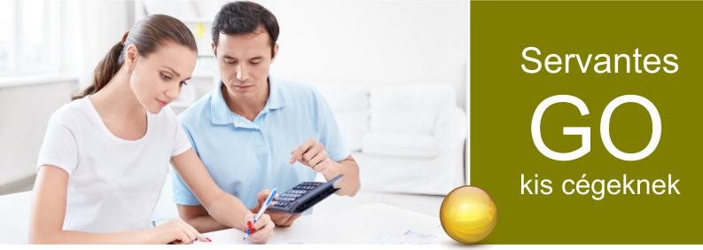Servantes GO E.R.P. Intergált Vállalatirányítási Szoftverrendszer – Kisvállalkozásoknak