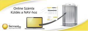 Servantes Számlázó- Online Számla küldés a NAV-hoz