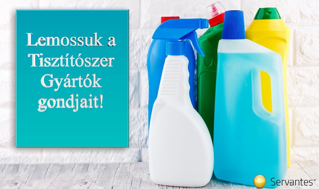 Vállalatirányítási Rendszer tisztítószereket gyártó cégek számára